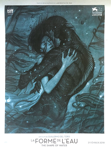 the-shape-of-water-rare-advance-french-movie-poster-15x21-in-2017-guillermo-del-toro